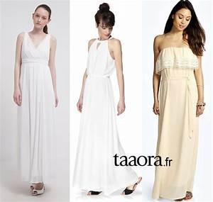 Robe Blanche Longue Boheme : robe longue chic boheme la mode des robes de france ~ Preciouscoupons.com Idées de Décoration