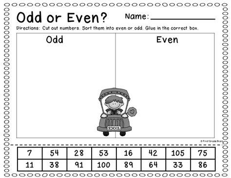 great worksheet  teach students  odd