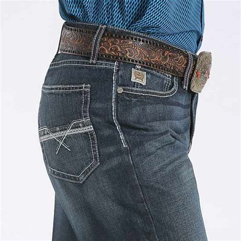 Cinch Men's Grant Jean Dark Stonewash