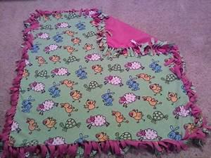 No Sew Fringe Fleece Blanket · A Fleece Blanket · Version