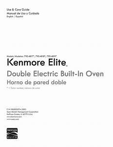 Kenmore Elite 27 U0026 39  U0026 39  Double Wall Oven Owner U0026 39 S Manual