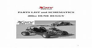 Yama Buggy 400cc Parts List And Schematics