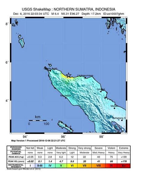 sumatra earthquake  dead   magnitude quake