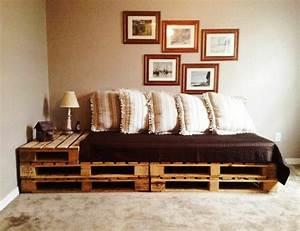Couch Aus Paletten : sofa aus paletten integrieren diy m bel sind praktisch und originell ~ Whattoseeinmadrid.com Haus und Dekorationen