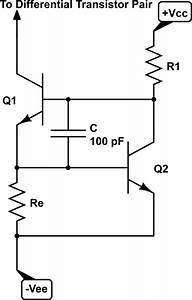 amplifier addition of hf capacitor to constant current With constant current power amplifier