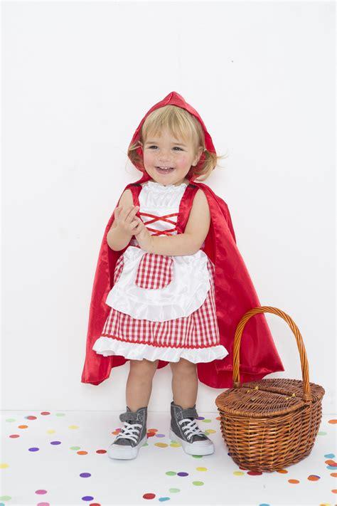 Disfraz niño de Caperucita roja (Talla 2 3 años