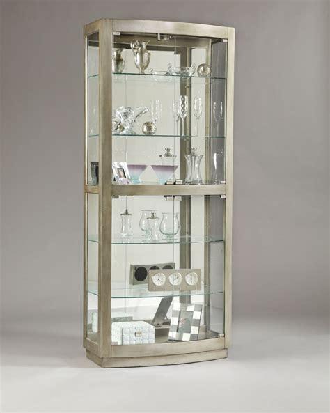 pulaski curio cabinet replacement glass pulaski platinum glass door curio cabinet 21396