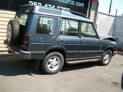how cars run 1997 land rover discovery engine control buy used 1997 land rover discovery se no reserve auction in tacoma washington united states