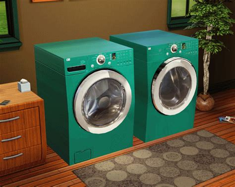 Mod The Sims  Decorative Lg Washer & Dryer