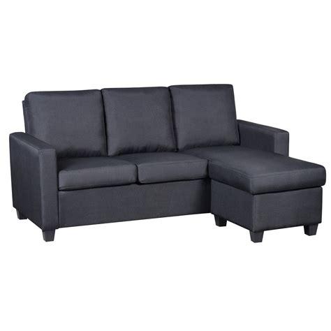 canapé d angle modulable deco in canape d angle modulable noir emana emana noir