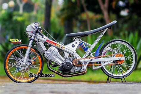 Drag Honda Mio by 44 Foto Gambar Modifikasi Honda Sonic Drag Bike Thailand
