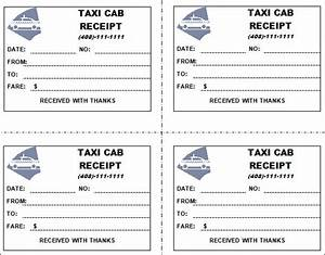 taxi receipt template 11 free download for word pdf With limo receipt template