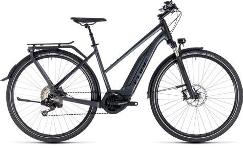 cube e bike trekking cube touring hybrid sl 500 iridium 180 n 180 2018 2019