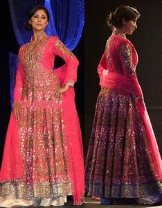 Urmila Matondkar in Manish Malhotra Designer 2014 Long ...