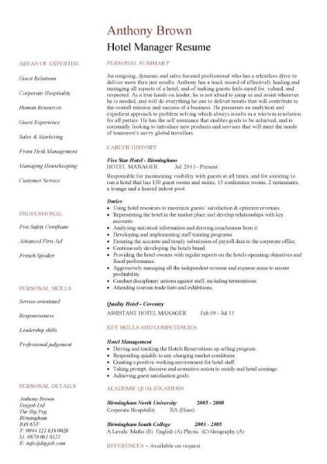 Jobboom Resume by Food And Beverage Descriptions 28 Images Food And Beverage Resume Templates Themysticwindow