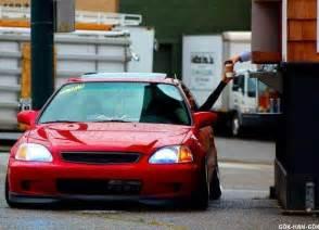 Honda Civic Slammed