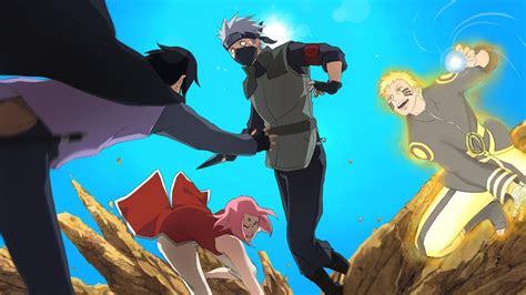Hokage Naruto, Sasuke & Sakura Vs Kakashi