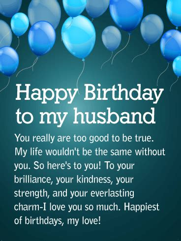 partner  life happy birthday wishes card
