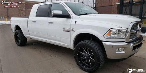 Dodge Ram 3500 Fuel Maverick D538 Wheels Black & Milled