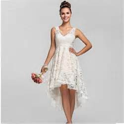 plus size bridesmaid dresses cheap 2015 summer high low lace wedding dresses plus size v neck cheap china made vintage