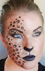 Karneval Gesicht Schminken : frau leopard gesicht schminken fasching makeup leopard fasching faschingskost me ~ Frokenaadalensverden.com Haus und Dekorationen