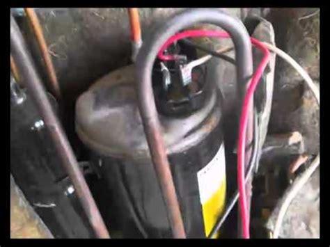aire acondicionado compresor condensador no funciona