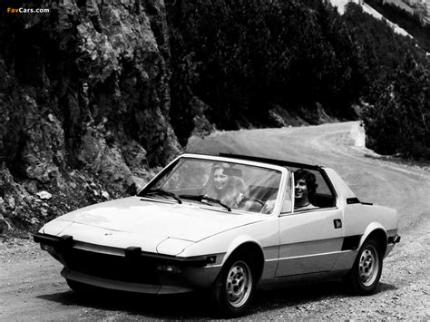 Images Of Fiat X1/9 (128) 1972–78 (1024x768