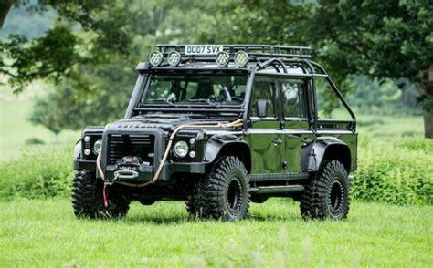 james bond land rover defender svx   sale