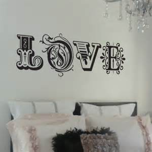 Transfers For Kitchen Walls by Love Wall Sticker By Nutmeg Notonthehighstreet Com