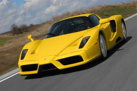 Yellow Ferrari Enzo Wallpaper |cars Wallpapers And