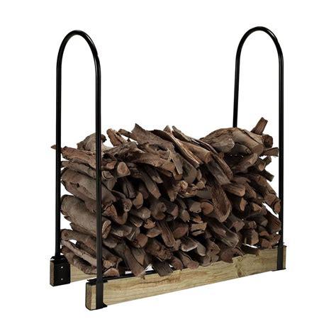 shop crosley furniture         steel adjustable firewood rack  lowescom