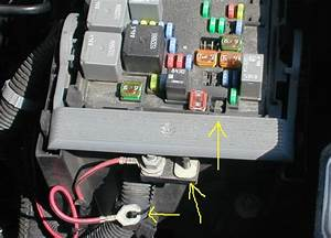 Under The Hood Fuse Box For 2011 Gmc Truck