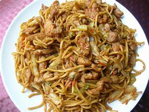 Loretta Simple RecipesShredded Pork Chow Mein