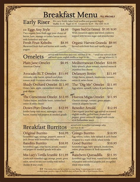 With really tasty takes on favorites like waffles, french toast, and lobster rolls, this little gem has something to satisfy everyone, including (but not limited to) a great selection of wine and beer. Breakfast - Toast Coffeehouse | Breakfast menu, Organic oatmeal, Fruit parfait