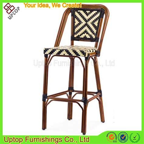 chaise de bar rotin sp oc414 bistro haute bar chaise chaise en rotin pour l