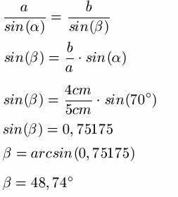 Hypotenuse Berechnen Formel : sinussatz ~ Themetempest.com Abrechnung