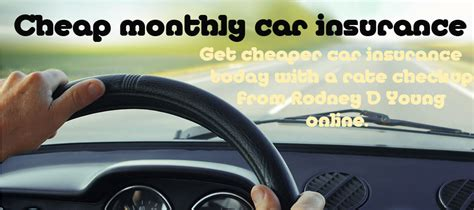 Monthly Car Insurance - average monthly automobile insurance rates just at rdyoung