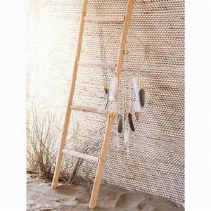 Echelle Decorative Blanche : attrape r ves plumes tendance safari party chelle ~ Teatrodelosmanantiales.com Idées de Décoration