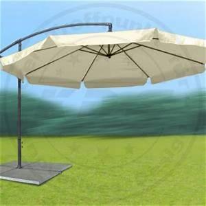 Sonnenschirm 3 Meter Durchmesser : gro er metall ampelschirm gartenschirm beige 3 m sonnenschirm mit kurbel schirm ebay ~ Whattoseeinmadrid.com Haus und Dekorationen