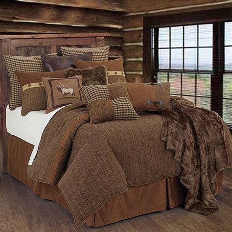 cabin style bedding crestwood lodge bedding collection cabin place