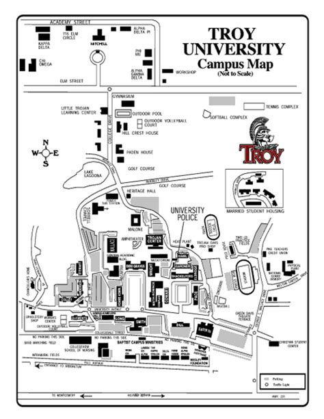 Troy University Lesson Plan Template by Cus Map Of Troy University