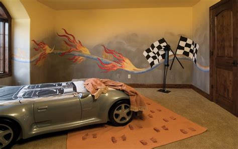 chambre cars bedroom boys car big boy ideas room racing try cars race