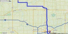 Driving Directions from Palo, Michigan to Wharton Center ...
