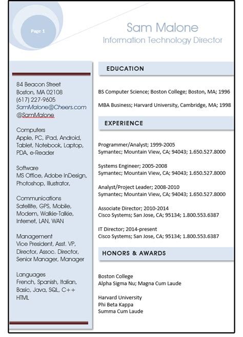 word resume tips  style sheets shapes  text
