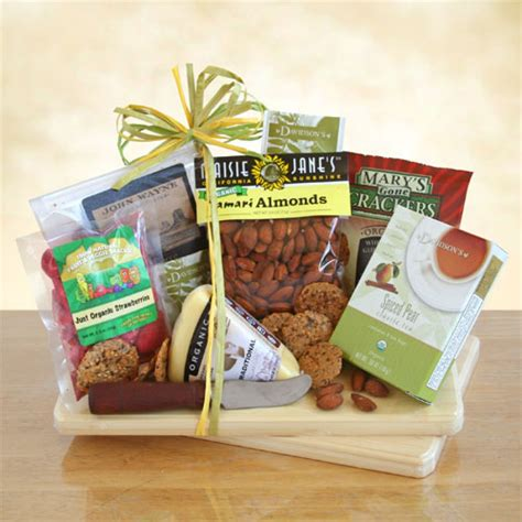 organic gift baskets organic party food gift free shipping