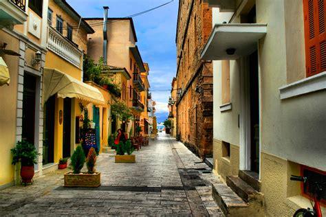 Nafplio, Greece, Street view, Street, Urban, Cityscape ...