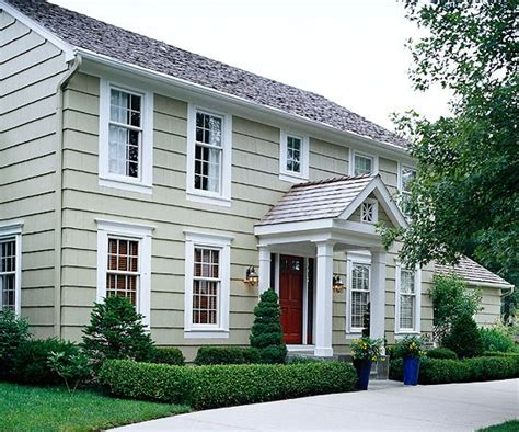 before after exteriors and home additions colonial