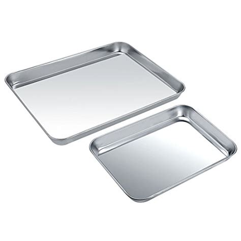 stainless baking steel sheet cookie sheets dishwasher finish easy toxic rectangle pan pieces non superior healthy safe mirror clean