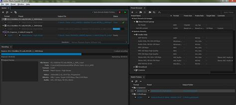 encode video  audio  adobe media encoder