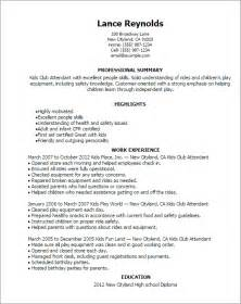 professional club attendant templates to showcase